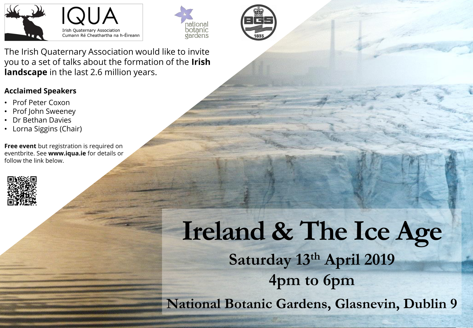 Ireland and the Ice Age: a public event